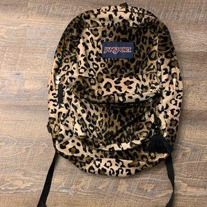 Cheetah Jansport Backpack